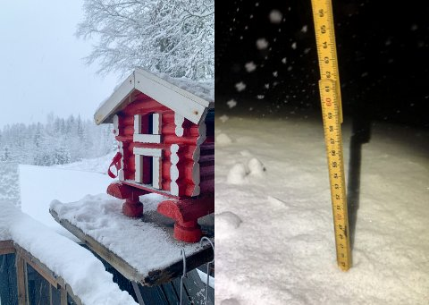 VINTER: Takket være siste døgns snøfall, og hele 45 centimeter på Norefjell, nærmer skisesongen seg med stormskritt. Det ser ganske fint ut i Eggedal også.