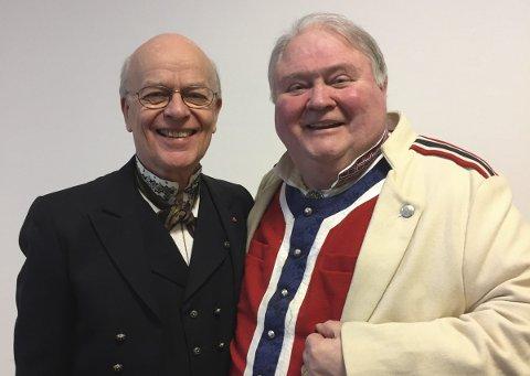 KONSERT: Jubileumskonserten starter med Knut Buen og Sigmund Groven.