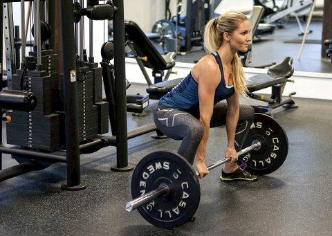 Camilla Aastorp Andersen ønsker å inspirere til en sunn livsstil med bloggen sin, og mener dem som ikke syns trening er gøy bare ikke har funnet den rette treningsformen for seg. Hver uke er 50.000 unike brukere inne på bloggen hennes.Foto: privat