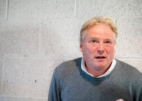 – STORT: Jörgen Lennartsson etter eliteseriekampen i fotball mellom Sarpsborg og Lillestrøm på Sarpsborg stadion.