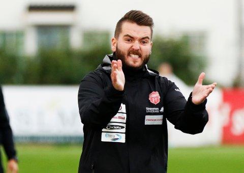 IKKE NÅDIG: Strømmen-trener Ole Martin Nesselquist var alt annet enn fornøyd etter 1-1 i bunnkampen mot Notodden. FOTO: PERNILLE NIELSEN