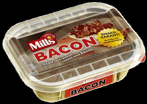 Mills Ovnsbakt Baconpostei tilbakekalles.