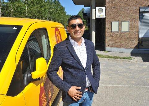 FOREBEREDERÅPNING:Raj Kumar åpner om kort tid pizzabakeri med take-away.