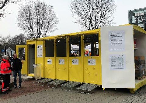 MOBIL: Den nye gjenvinningstasjonen skal betjene Asker og Slemmestad.