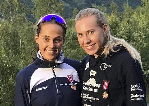 Tatt ut: Solveig Hernandez Vråler (hekk)  og Elise Nedberg (høyde).