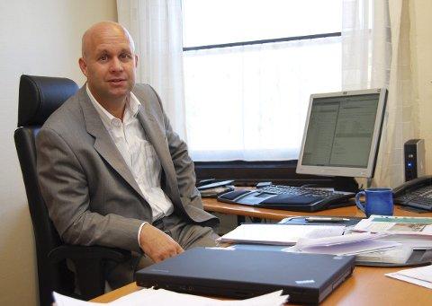 Vil ha mer penger: Stokke-rådmann Lars Joakim Tveit krever at departementet punger ut med flere millioner kroner i omstillingsmidler dersom Vear går til Tønsberg. Arkivfoto: Ralf Haga