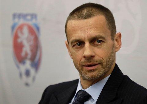 Aleksander Ceferin og UEFA oppretter ny klubbturnering.
