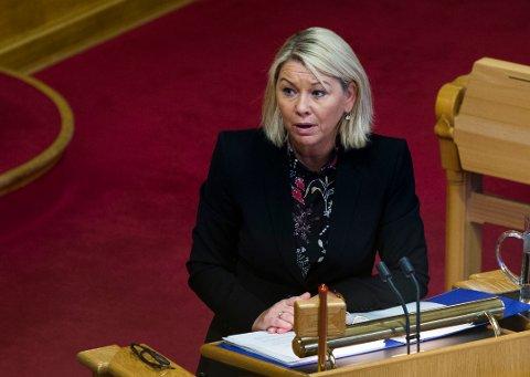 Næringsminister Monica Mæland (H).