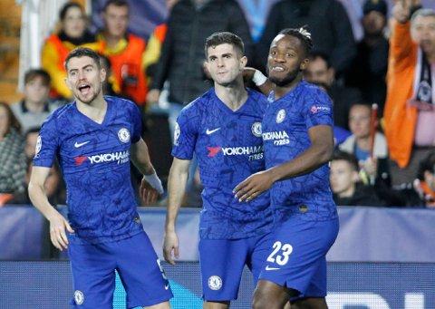Vi har troen på Chelsea i kveld. (AP Photo/Alberto Saiz)