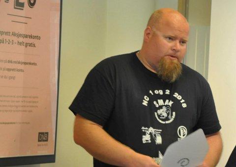 Øyvind Enger er en av mange som vil bli ansatt som vaktmester på skolen.