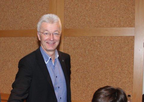 ØNSKJER INNSPEL: Fylkesordførar Jon Askeland vil ha innspel til Nasjonal Transportplan innan 3. april.