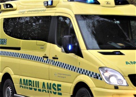 UVISS ORDNING: Hjelmeland har hatt eiga ambulanseteneste. Det er ikkje sikkert det blir tilfelle i åra framover.
