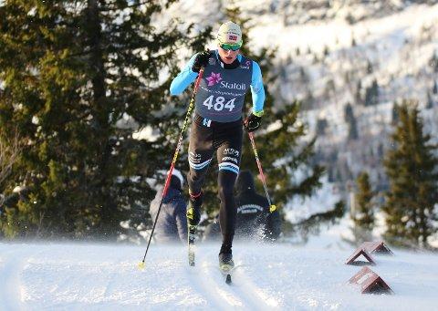 IMPONERER: Mikael Gunnulfsen imponerte med 4. plass søndag, men understreker at han ikke har noen tanker om å kjempe om en VM-plass. FOTO: Eirik Lund Røer
