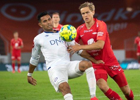 Thomas Grøgaard håper å starte seriekamp mot Strømsgodset lørdag. Han forteller at all oppmerksomhet rundt Brann og det skandaløse nachspielet på Brann stadion har preget stemningen.