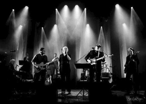 KLARE: Notodden Blues Band er klare for sin siste jubileumskonsert med 40 som markert tall. Det er 10 år til neste gang ...