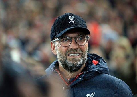 Liverpool-manager Jürgen Klopp kom et lite stikk til Solskjær før søndagens kamp.