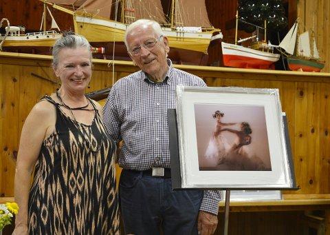 BEVEGELSE: Sekvensen «Ballett» uttrykkjer verdien av bevegelse – noko Reidar Østvik takkar fysioterapeut Connie Hübner for.