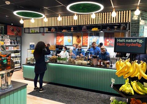 Den nye vegan/vegetar-butikken Veggie de Luca på Gründerløkka i Oslo.