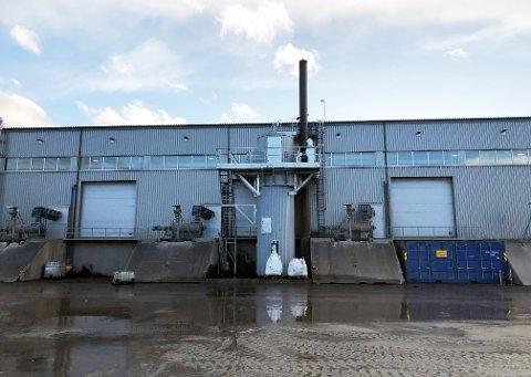 Det nye renseanlegget på Husøya skal gi kraftig reduksjon i utslipp av uønskede gasser.