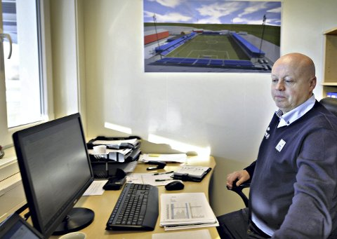 Daglig leder: Kjetil Thorsen og KBK vil på årsmøtet 9. mars legge fram et underskudd på 429.260 kroner. Klubben vil nå selge bygningsmasse på Kristiansund stadion for å bedre egen likviditet.