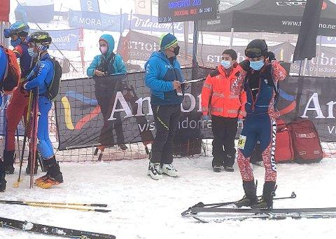 ERFARING: Todalingen Erik Kårvatn (til høyre) kunne dra hjem fra VM i randonee med mye nyttig erfaring og flere gode plasseringer i kamp med verdenseliten i mesterskapet i Andorra.