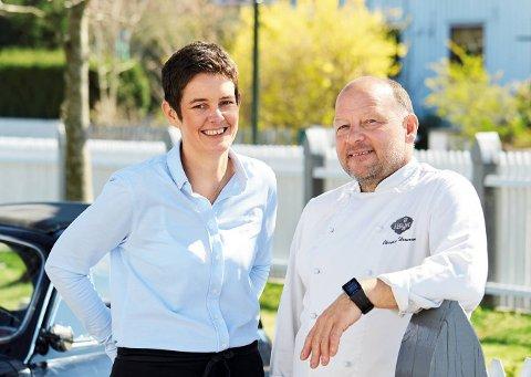 SER POTENSIAL PÅ TEIE: Christian og Ingvild Wernersen tror det blir mer aktivitet på Teie framover, og det har de lyst til å være med på.