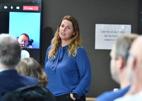 LEIRSKOLE: Hilde Melhus i Innherred Innkjøp er klar med anbudet verdt 1,2 mill. kroner.