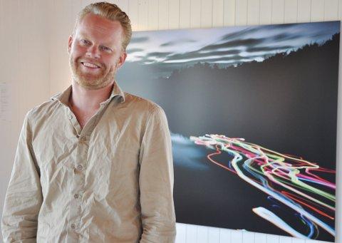 Kunstfotograf: Ole Brodersen fikk ett av de fire stipendene som ble utdelt av Agder Kunstsenter.Arkivfoto