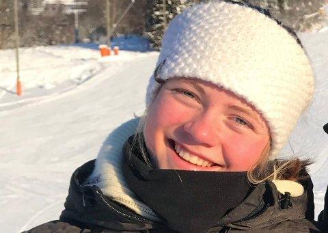 BEST I 2. OMGANG: Malin Sofie Sund var raskest av alle i 2. omgang, men tapte litt for mye tid i 1. omgang til at det ble NM-medalje i slalåm.