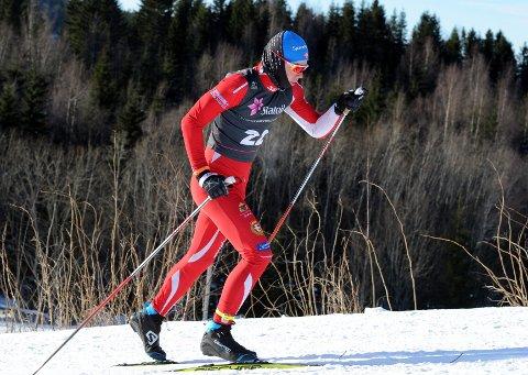 SATSER: Sigurd Grønbakken er en av få i Vestby som satser på langrennssporten. Han har junior-NM som vinterens store mål.
