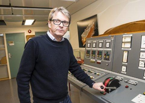 Varsel: Nå har rektor ved Horten fagskole, Ola Småkasin og resten av styret stoppet framdriften for dekksoffiser- og maskinoffiserutdannelsen i Horten.