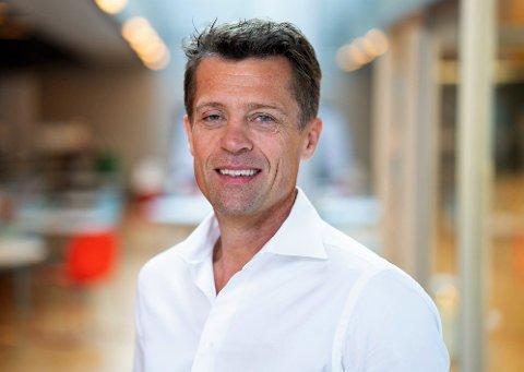 GJORDE DET SKARPT: Koronaåret 2020 bød på nye omsetningsrekorder for Selvaag Bolig AS, konstaterer adm. direktør Sverre Molvik.