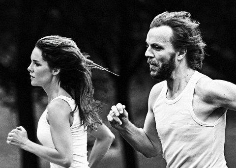 På vei opp: Nina Mortvedt og Nicolai Hængsle Eilertsen er i full fart  opp og frem etter at de fikk prisen for Årets beste Nordiske Album.