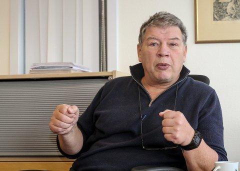 STORT: – Selvsagt hadde det vært stort å møte Mike Tyson, sier Haktor Slåke som også er president i Norges Bokseforbund.