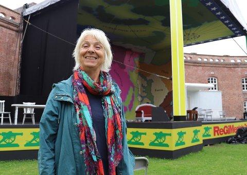 Fornøyd: – Kunstnerisk gikk det kjempebra, sier Anne Felberg om årets opera på Oscarsborg.