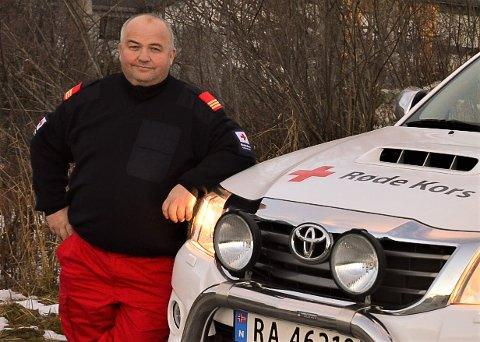 Korpsleder Ole Martin Aspås i Ålen Røde Kors.
