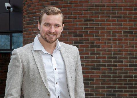 Ny megler: Erik Ulseth i NEM Eiendomsmegler skal ta andeler i boligmarkedet i Sunndal.