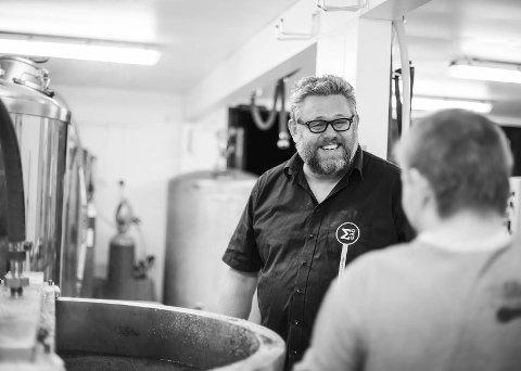 Foredrag: Kjetil Jikiun inspirerte gjengen bak Bådin til å starte med ølbrygging. Lørdag formiddag holder han foredrag i forbindelse med Bådins egen ølfestival. Foto: Privat