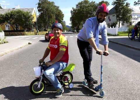 Uansett hjul: Hjelm og hjul er det eneste kriteriet for å ta del i sykkelfesten som skal arrangeres neste søndag. Da er det Tour of Norway for kids som skal fylle sentrums gater med sykkelglade barn.Foto: Kristoffer Wollvik Pettersen