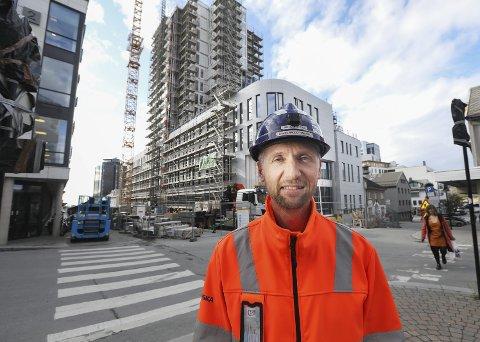 Prosjektleder: Bodø 360 er det største prosjektet Bjørn-Wiggo Hansen i Skanska noensinne har vært ansvarlig for.