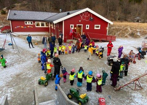 Ikke flere plasser: Renoveringen og utbyggingen av barnehagen på Laskestad vil ikke føre til at barnehagekapasiteten utvides.
