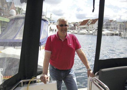 Kjell Rune Kippernes er overrasket over at så mange har opplevd dårlig kjøring til sjøs. Det har ikke han.