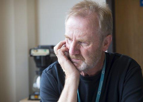 Fortvilet: Driftsleder Olav Aadland i Flytanking AS er fortvilet over at streiken går utover kundene.