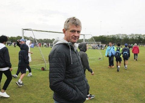 Branns exit fra Europa ga Lars Arne Nilsen mulighet til å dra til Dana Cup for å se sønnen spille. (Foto: Jonas Johnsen)