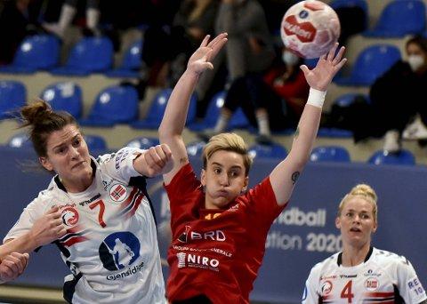 Stine Skogrand ble toppscorer med tolv scoringer.