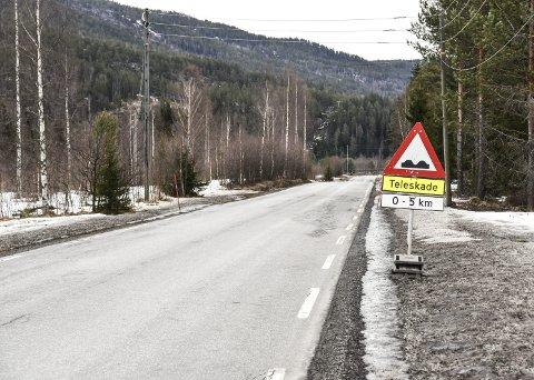 GJENÅPNES: Sigdalsveien har vært stengt siden april, men fredag kan du endelig kjøre strake veien gjennom Sigdal.