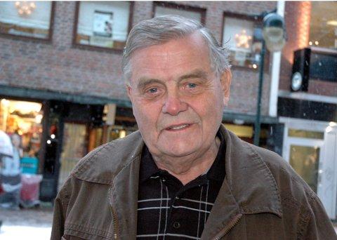 Leif Haraldseth ble 89 år gammel. Dette bildet ble tatt i 2008.