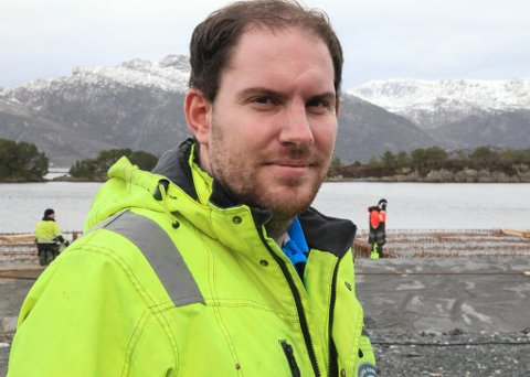 Jostein Lange Bergset, hamnesjef i Aurland