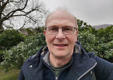 DAGLEG LEIAR: Erling Bakke Nydal i Kinn kyrkjelege fellesråd.