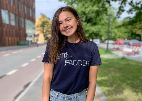 FADDERSJEF: Camilla Sunde frå Førde er faddersjef ved NTNU. – Det har vore utfordrande, men veldig spennande, seier ho.